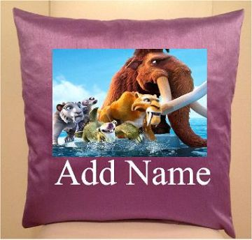 Ice age, sofa cushions